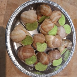 Escargots de Bourgogne pur Beurre